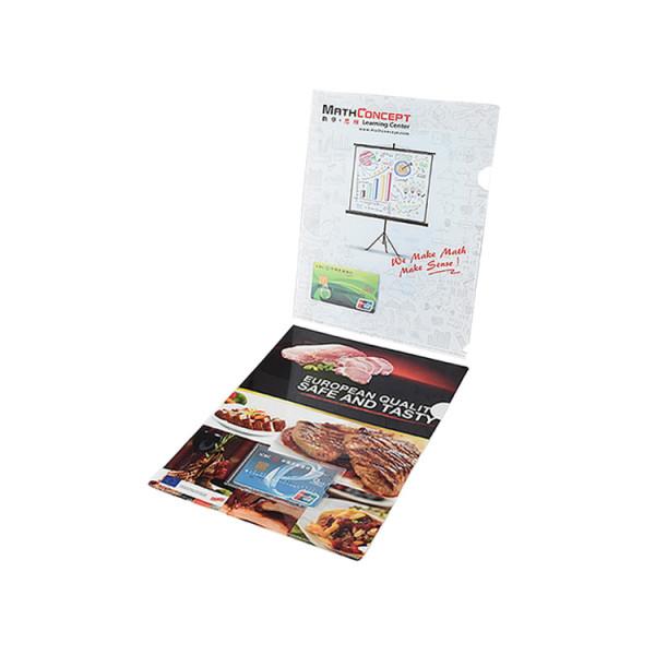 Customzied Print L-shape File Folder