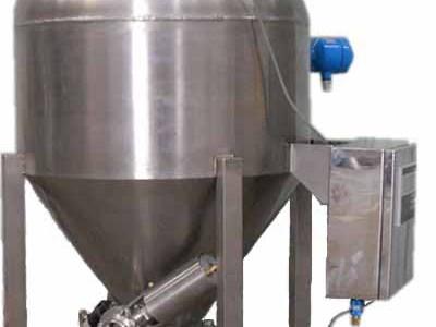 Positive pressure conveyor dense phase positive pressure conveyor