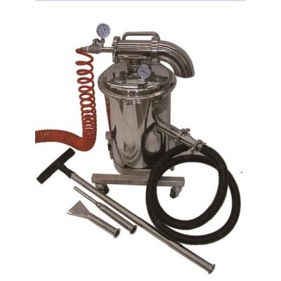 Clean room special purpose vacuum cleaner
