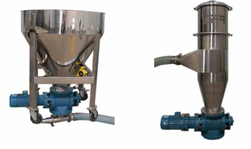 Dilute phase positive pressure conveyor