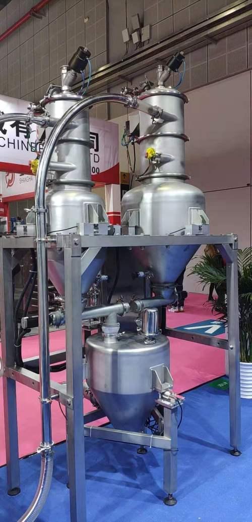 Weighing and dosing machine