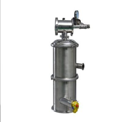 Jet pump vacuum conveyor