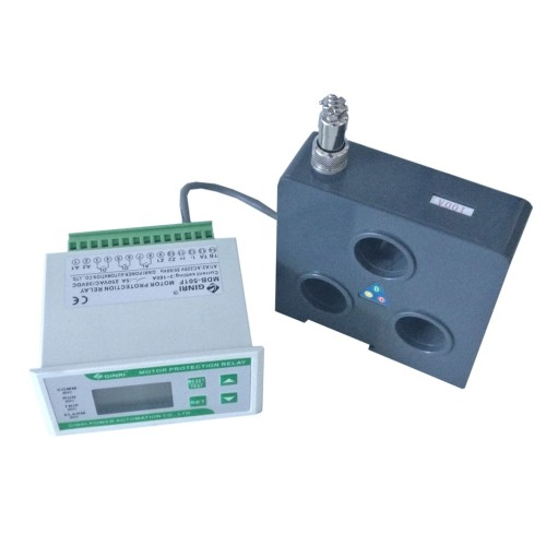 GINRI MDB-501F LCD Display Overload Voltage Current Control Separate Motor Protection Relay with CT