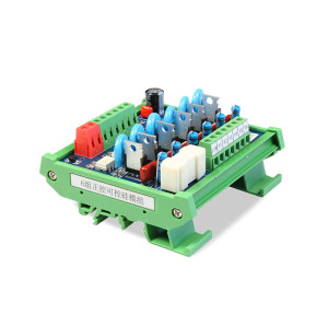 6 Channel SCR Module JR-6K Thyristor Optocoupler I/O Protector PLC AC Output Amplified Board DC24V
