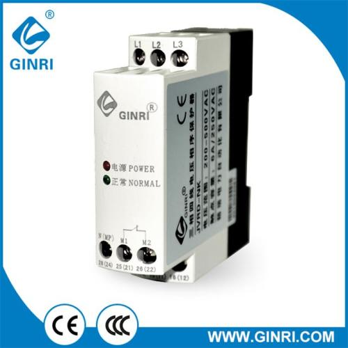 Ginri JVRD-NK(Greater resistance to inverter noise)Three phase Four wire Voltage Monitoring Relays