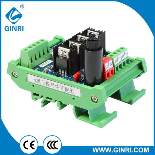 JR-4J High Quality 4 Channel Amplifier Transistor Module Power Amplificateur Board DC24V