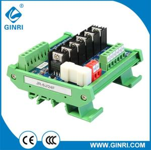 JR-6J 6 Channel Transistor Module DC24V 5V/12V  PLC DC amplifier board modules