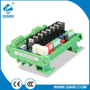 Ginri JR-8J Transistor module with Optocoupler Isolator 8 Channel PLC DC Relay  Board