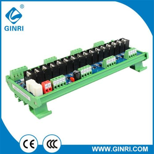 GINRI JR-16J/24 16 Channel Transistor DC Amplified Output Power Plate PLC Protection Board Module