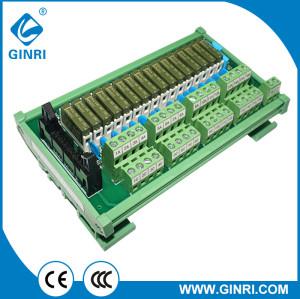 Módulo de cableado del módulo ginri JR - b16pc - F - FX / dc24v - 16