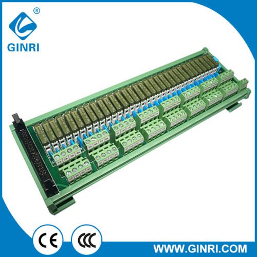 Ginri JR - b32pc - F - FX / 24vdc módulo para relés de canal 32