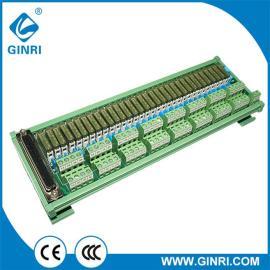 Conector PLC - salida Interface Din número de pistas para el módulo de relés JR - d32pc - F - AH / 24vdc canal 32