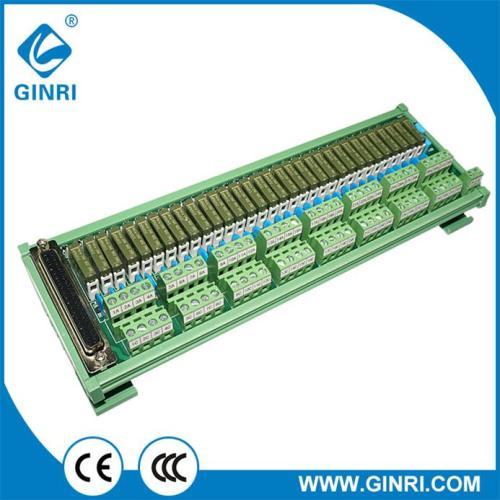 JR-D32PC-F-AH/24VDC Relay Module 32 Channel 37P D-SUB Connector PLC Output Interface DIN Rail amount