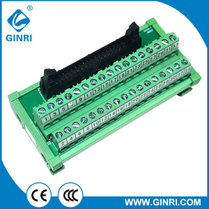 GINRI JR-34TBC 34Pin IDC Interface Modules Breakout Board Terminal Board Adapter Connector