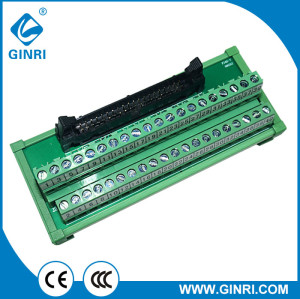 GINRI JR-40TBC Adapter Module with connector IDC 40 pin Interface Module Breakout Board
