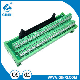 GINRI JR-50TBC Terminal Block Interface Modules 50P IDC Connector 2.54mm Pin Patch