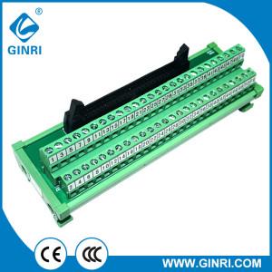 GINRI JR-50TBC Terminal Block Interface Modules 50P IDC Connector 2.54mm Pin Patch