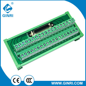 GINRI JR-36TSC 36Pin SCSI Interface Relay Module Board Converter