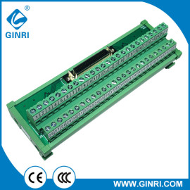 Módulo de interfaz del panel de terminal ginri JR - 50tbc 50P conector IDC 2.54 mm