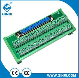 GINRI 37 pin D-SUB connectors Interface Module JR-37TDC D-subminiature Terminal Block DC24V