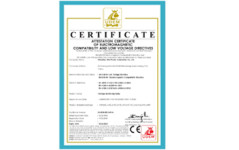 CE Certificate for Voltage Monitoring Relay