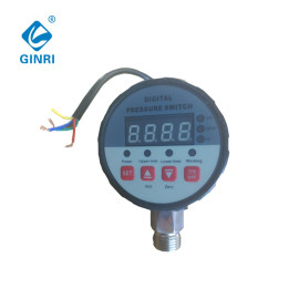 LED Digital Pressure Switch/Controller DC24V 220VAC 380VAC DPR-S80/S90