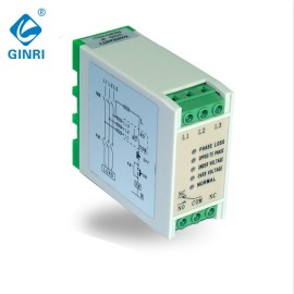 GINRI JVR-381 Three Phase Voltage  Monitoring Relay Phase Failure Sequence Asymmetry Relay