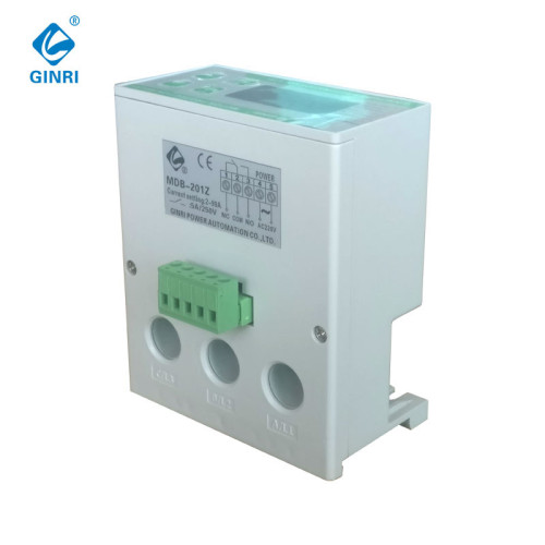 GINRI MDB-201Z Water Pump Protector Overload 2-99A Digital Electronic Motor Protection Relay