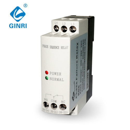 GINRI JVRD6 Voltage Monitoring Protective Relay Phase Sequence Phase Failure Relay