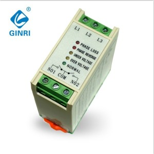 Automatic Phase Sequence  Corrector GINRI JVRP Voltage and Phase Monitoring Relay