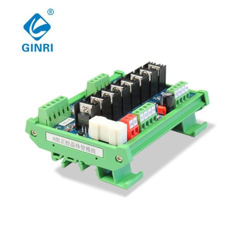 Ginri JR-8J Transistor module with Optocoupler Isolator 8 Channel PLC DC Relay  Board