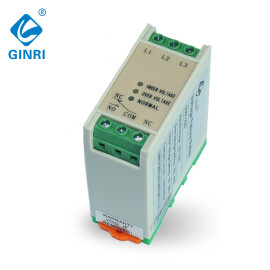 Three phase Voltage Monitoring Relay JVR-384 DIN Rail Overvoltage Undervoltage Protection Relays