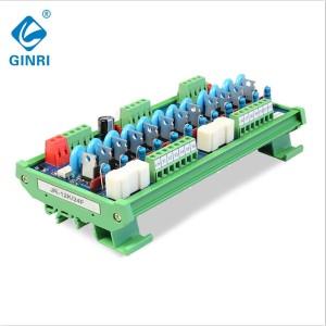 JR-12K SCR PLC AC Output Amplifier module 12 Channel Road Output thyristor Optocoupler IO protector