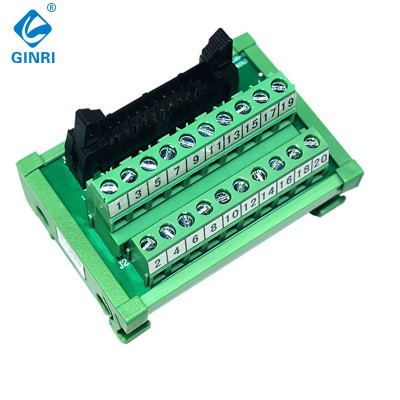 GINRI JR-20TBC 20Pin IDC Interface Modules Breakout Board Terminal Board Adapter Connector