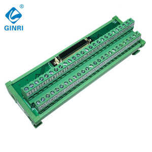 GINRI JR-50TSC Industrial I/O Module Interface Module, SCSI Connector Modules 50 pins MDR