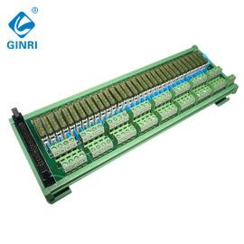 GINRI JR-B32PC-F-FX/24VDC 32 Channel Relay Module Board 40p MIL connector relay module