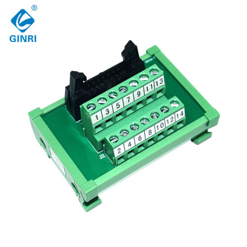 GINRI JR-14TBC MIL connector breakout board amplifier IDC Interface Modules for Flat Ribbon Cables