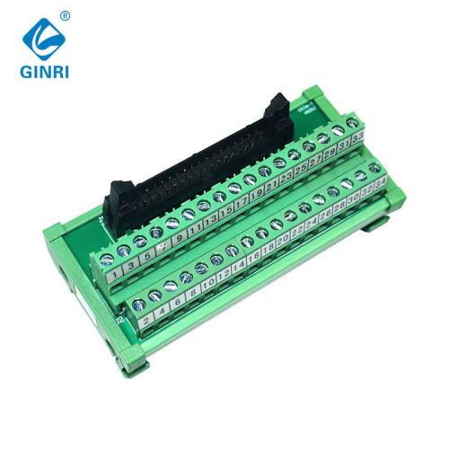 Ginri JR - 20tbc 20 agujas IDC Interface Module Separation panel adaptador