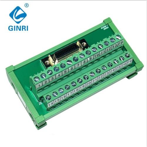 GINRI 26Pin PLC connection terminal board Interface Module Board JR-26TSC