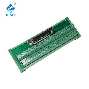 GINRI 44 pin D-SUB connectors Interface Module JR-44TDC D-sub miniature Terminal Block