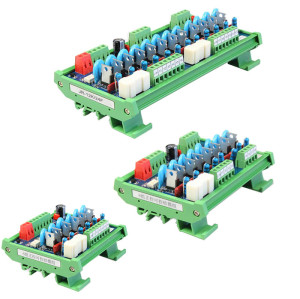 8 Channel PLC Protection AC silicon Optocoupler Isolation Board Output Board JR-8K SCR Module