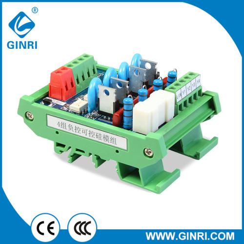 JR-4K Silicon Controlled Rectifier Module 4 Channel SCR Module Thyristor Control Board PLC AC Amplifier CARD