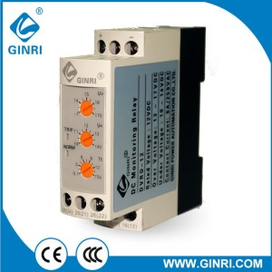 DC over  under voltage monitoring relay 12V 24V 36V 48V