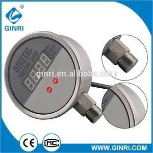 ABS 304 Stainless steel Led Digital Pressure Gauge 24VDC,220VAC,380NAC