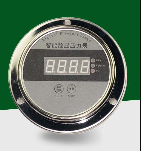 ABS 304 Stainless steel Led Digital Pressure Gauge 24VDC,220VAC,380NAC