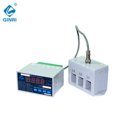 GINRI WDB-1F LCD Display Overload Voltage Current Control Separate Motor Protection Relay with CT