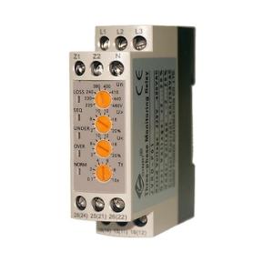 Ginri JVRD-P01 Three phase  over voltage  under voltage monitoring relay 3wire or 4wire