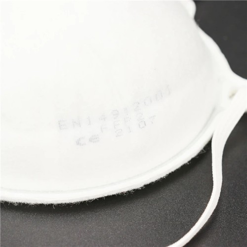 White List Factory Anti-Virus Dust Protective Cone Shape Face Mascarillas Disposable Niosh N95 Filtering Respirator Mask Without Exhalation Valve