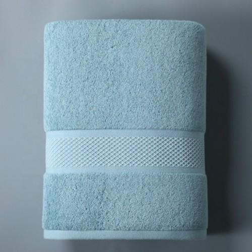 High quality plain color grid jacquard bath towel,100% cotton thick, factory supply, reusable.