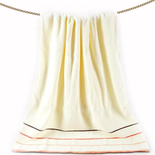 Classic high quality plain color bath towel,100% cotton soft towel , factory supply, reusable.